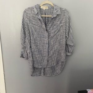 Cloth & Stone long sleeved button down M